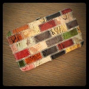 Nicole Lee Patchwork Wallet